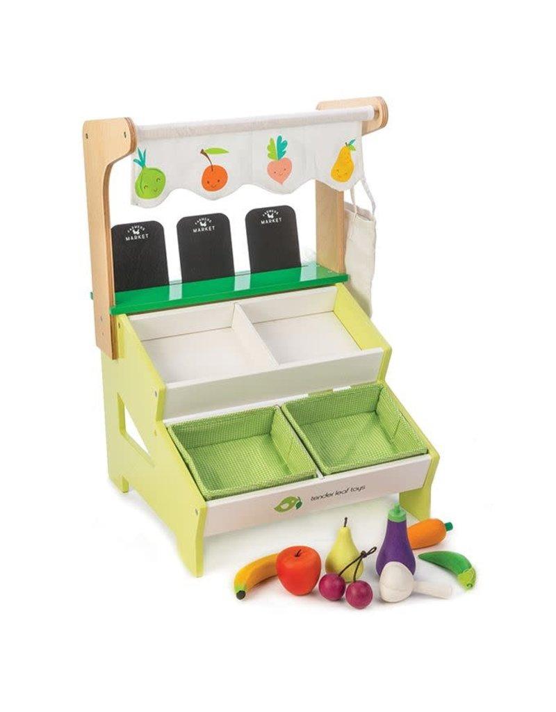 Tender Leaf Toys Tender Leaf Toys - Farmer?s Market Stall