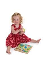 Tender Leaf Toys Tender Leaf Toys - Garden Patch Puzzle