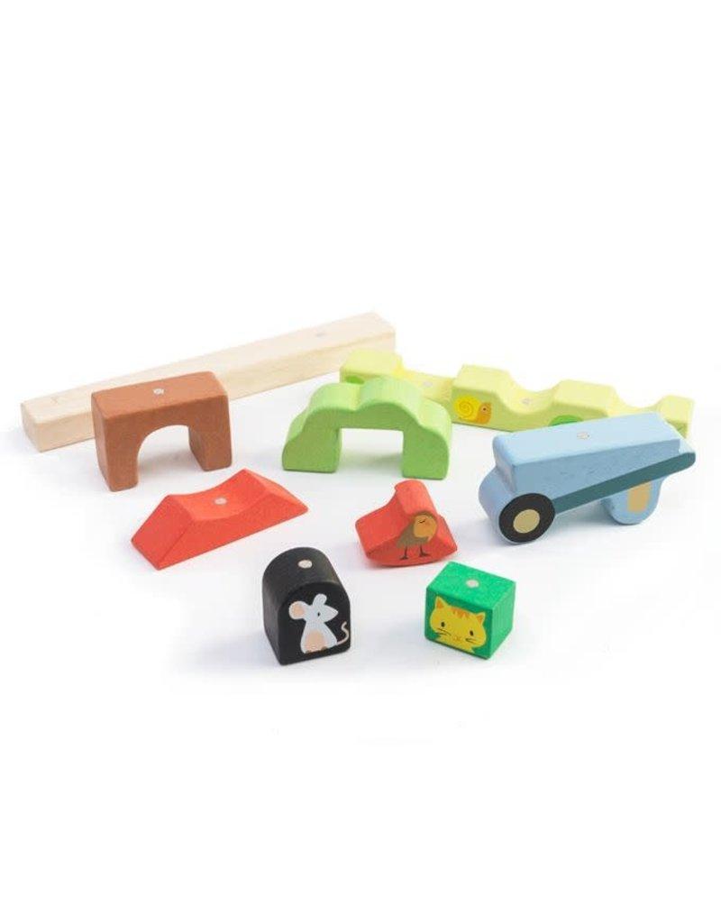 Tender Leaf Toys Tender Leaf Toys - Garden Magnetic Puzzle