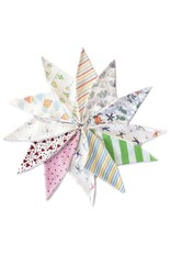 Under the Nile Under The Nile - Scrappy Dribble Bibs - one size / assorted colors
