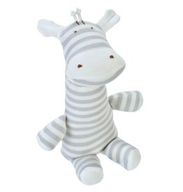 Under the Nile Under the Nile, Giraffe doll, Grey Stripe, Organic Cotton GOTS