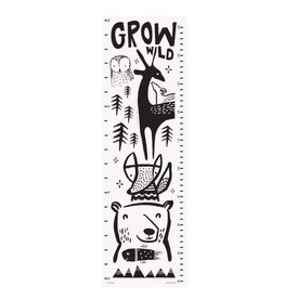 Wee Gallery Wee Gallery-Organic Growth Chart Woodlands