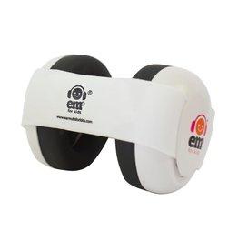 Em's 4 Kids Em's 4 Kids- 4 Bubs- Noise Reduction earmuffs , White, Newborn to 18m