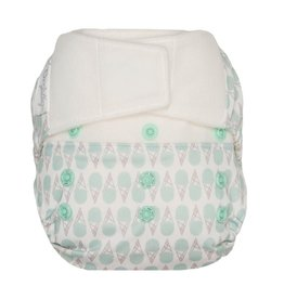 GroVia GroVia Shell - Hybrid Diapers - Hook and Loop , Abalone, 8-35 lbs