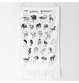 Wee Gallery Wee Gallery - Animal Alphabet Wall Hanging