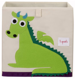 3 Sprouts 3 Sprouts - Storage Box 13x13x13, Unicorn