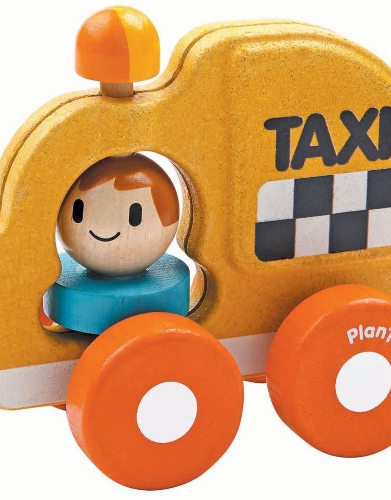 Plantoys Taxi Car