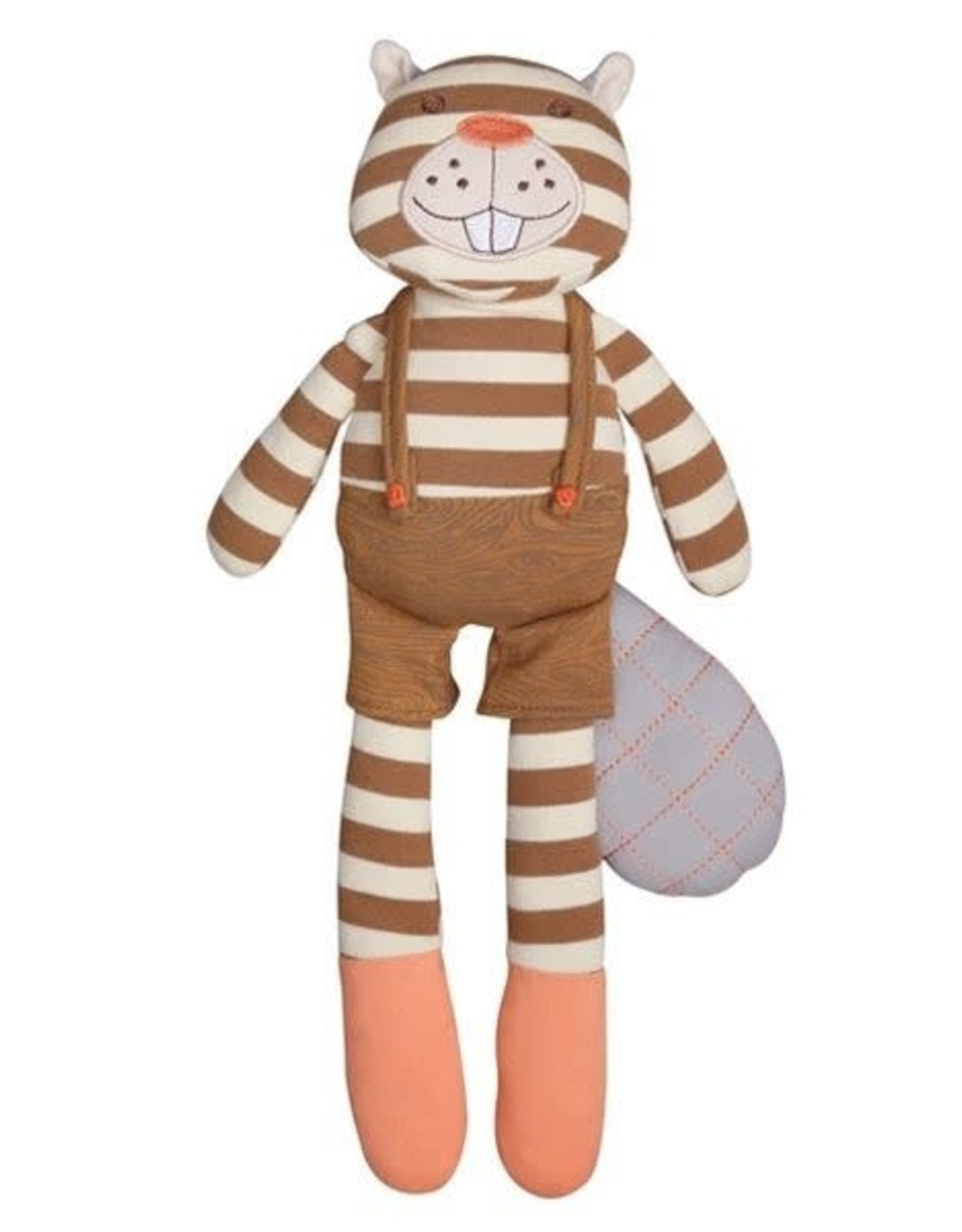 "Apple Park, LLC Buster Beaver 14"" Plush Toy"