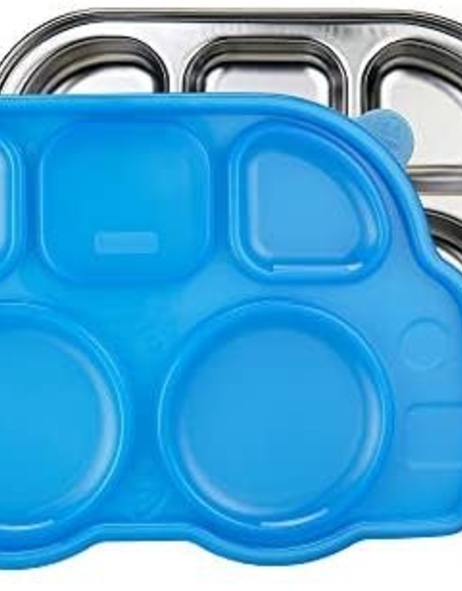 Innobaby Innobaby, Din Din Smart Divided Stainless Platter with Lid