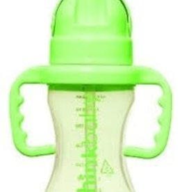 Thinkbaby Thinkbaby - Thinkster - Straw Bottle 9oz - Green