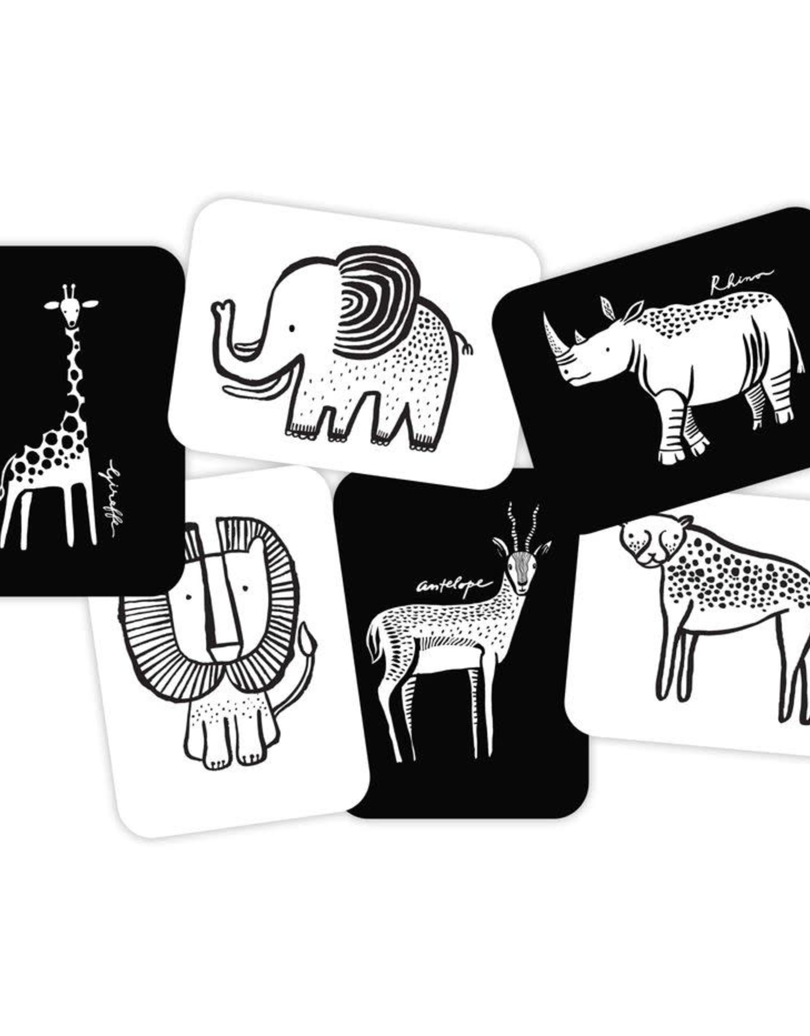 Wee Gallery Wee Gallery - Art Cards - Safari Collection
