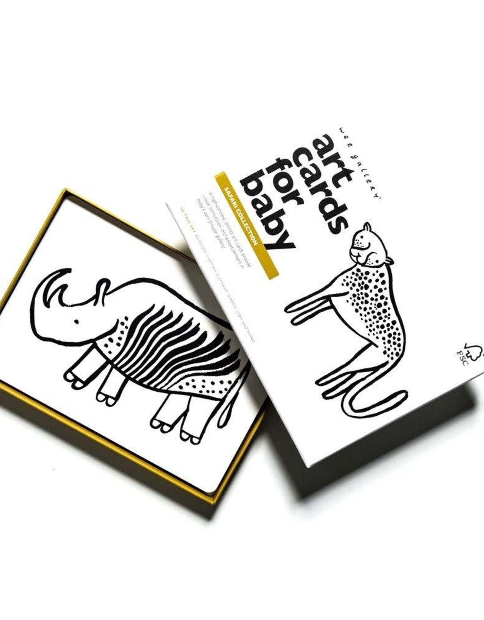 Wee Gallery Art Cards - Safari Collection