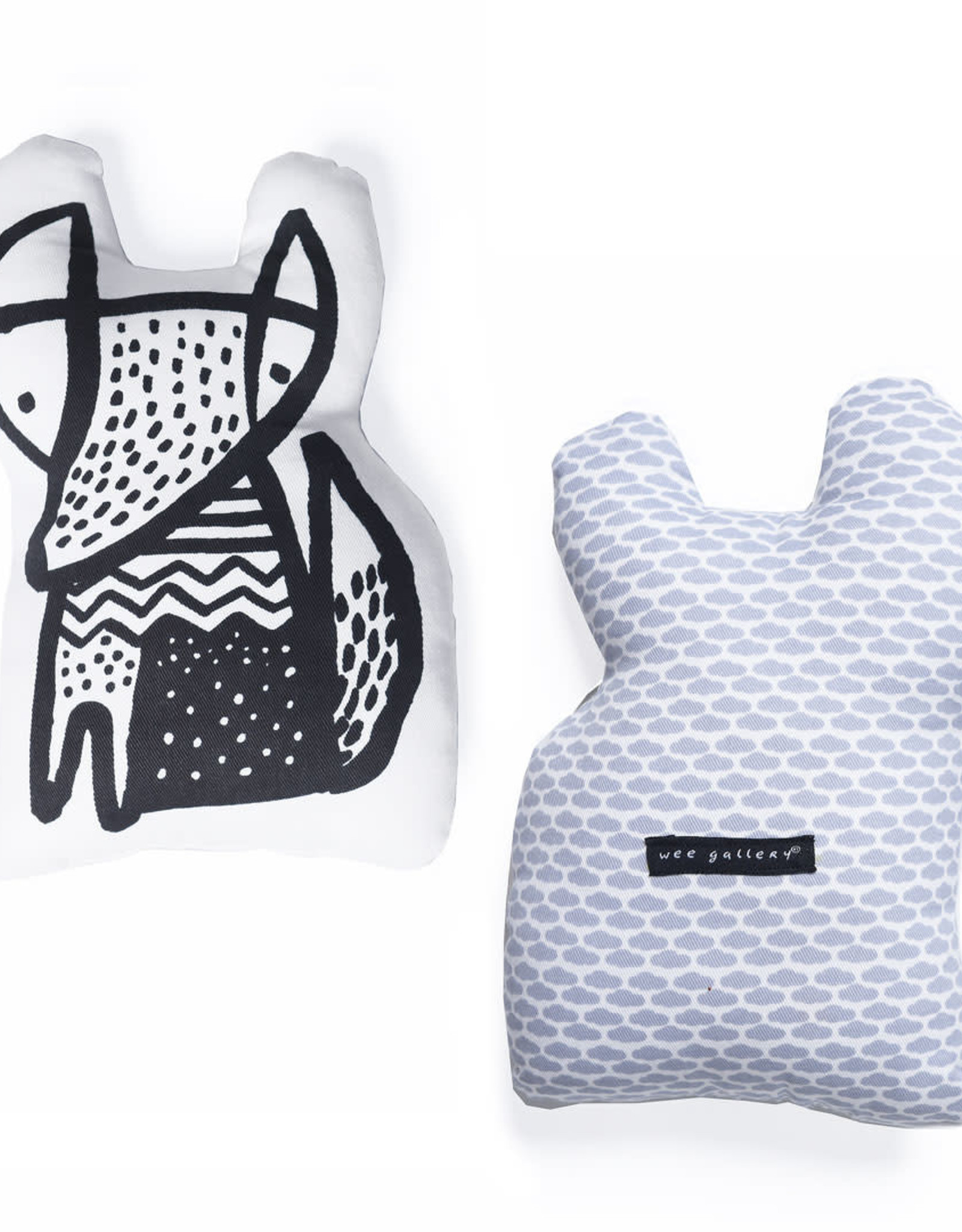 Wee Gallery Fox Throw Pillow