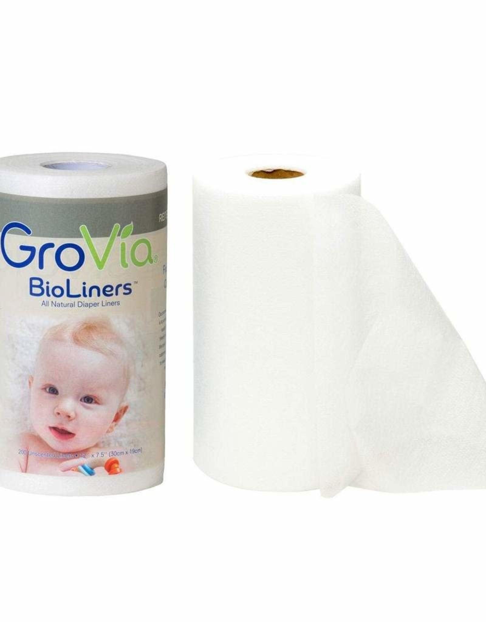GroVia BioLiners - 200 sheets per roll