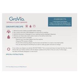 Grovia Laundry Recipe Magnet