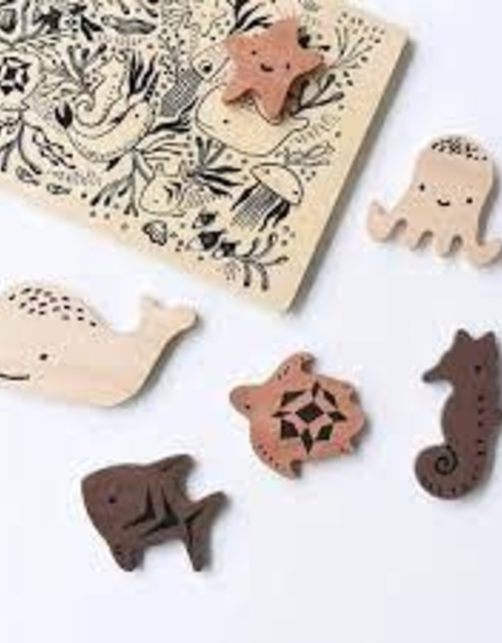 Wee Gallery Wee Gallery Wooden Tray Puzzle