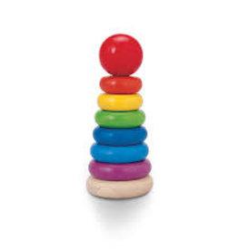 Plan Toys Stacking Ring rainbow