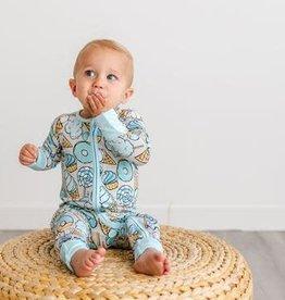 Littlesleepies bamboo zippy romper/sleeper