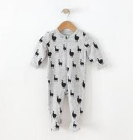 Me O My Earth Organic cotton/Repreve Footie with Ruffle