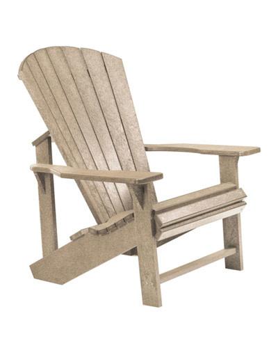 Adirondack Chair: BEIGE