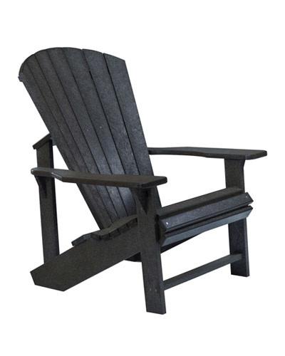 Adirondack Chair: BLACK
