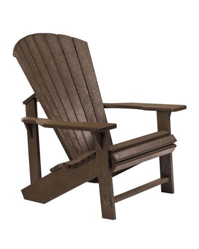 Adirondack Chair: CHOCOLATE