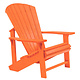 Adirondack Chair: ORANGE