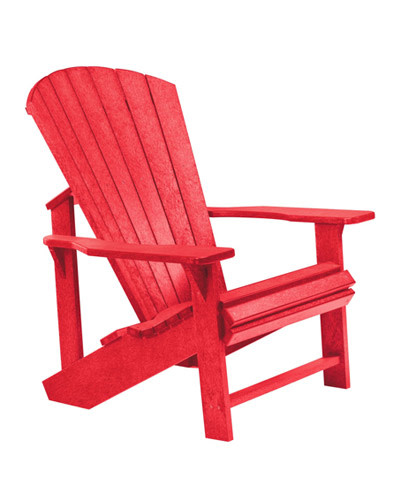 Adirondack Chair: RED