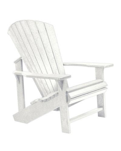 Adirondack Chair: WHITE