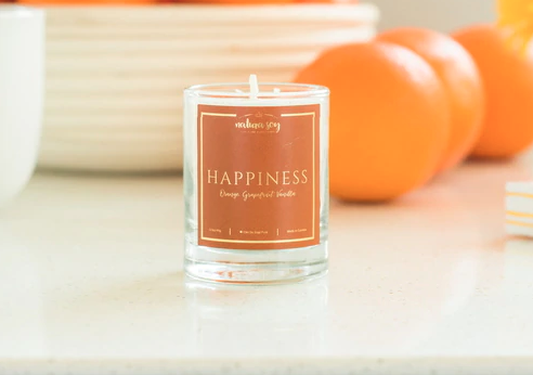 Natura Soy Votivo Jar: Happiness