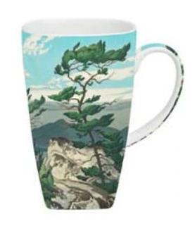 McIntosh AJ Casson White Pine Grande Mug