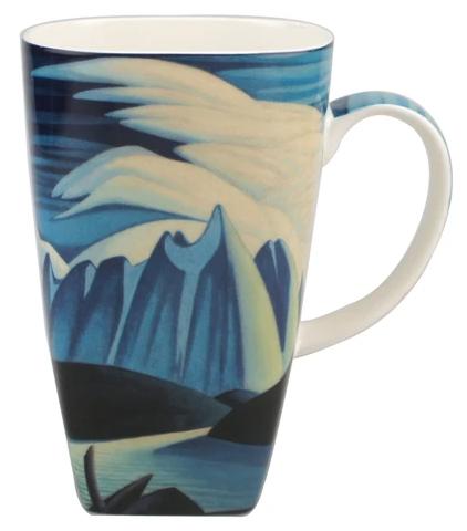 McIntosh Lawren Harris Lake and Mountains Grande Mug