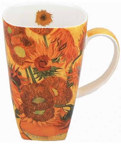 McIntosh Van Gogh Sunflowers Grande Mug