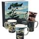 McIntosh Group of Seven Mug Set of Four Mugs