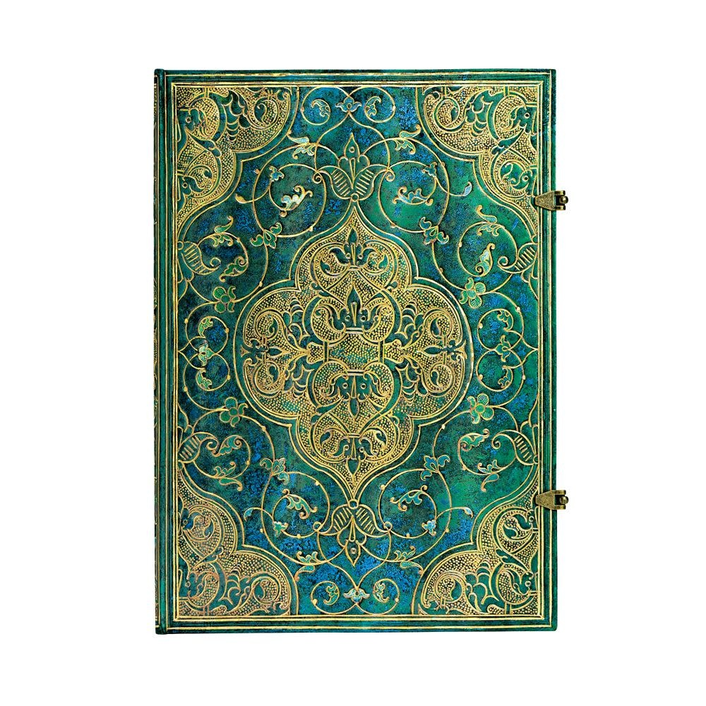 Paperblanks Grande Unlined: Turquoise Chronicles