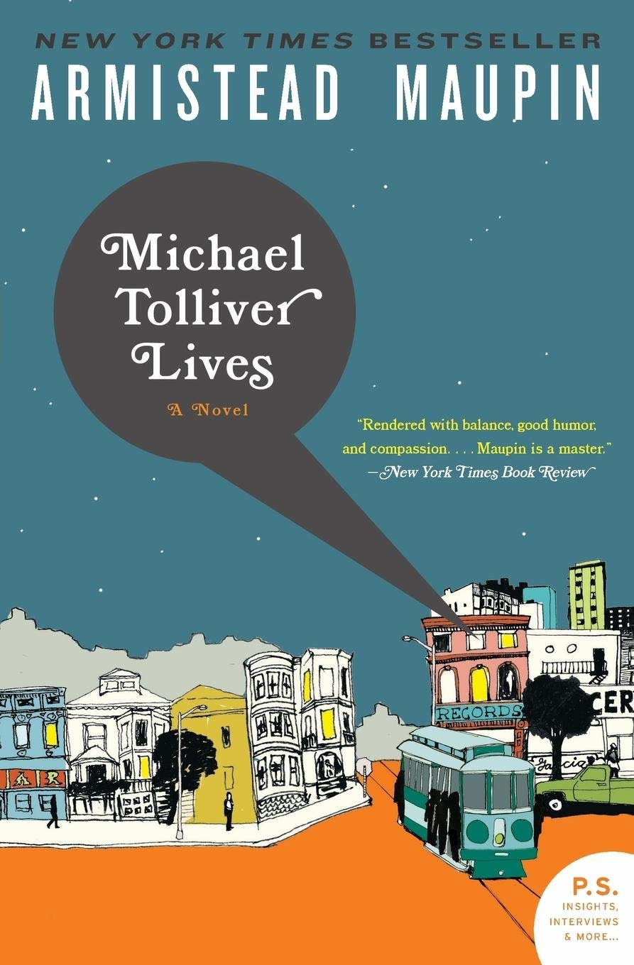 Michael Tolliver Lives a Novel from Tales of the City series