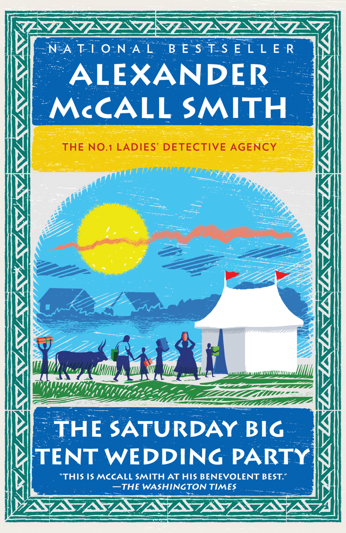 The Saturday Big Tent Wedding Party (The No.1 Ladies Detective Agency series)