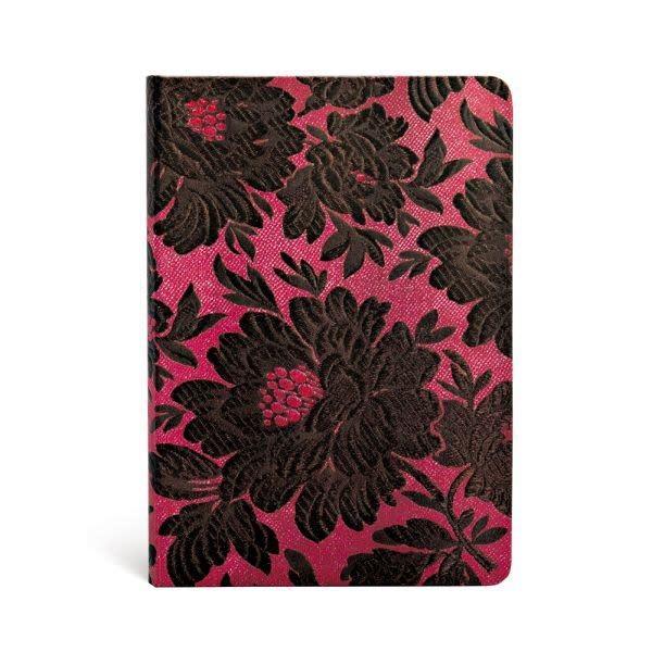 Paperblanks Midi Lined: Black Dahlia