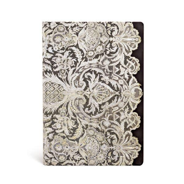 Paperblanks Midi Lined: Ivory Veil
