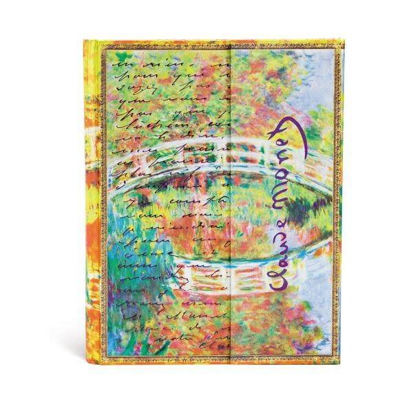 Paperblanks Ultra Unlined: Monet, Bridge