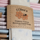 """CCBee's Natural Products Cotton Bee Wax Food Wrap 10"""" x 10"""""""