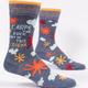 Blue Q Men's Socks: Carpe Diem