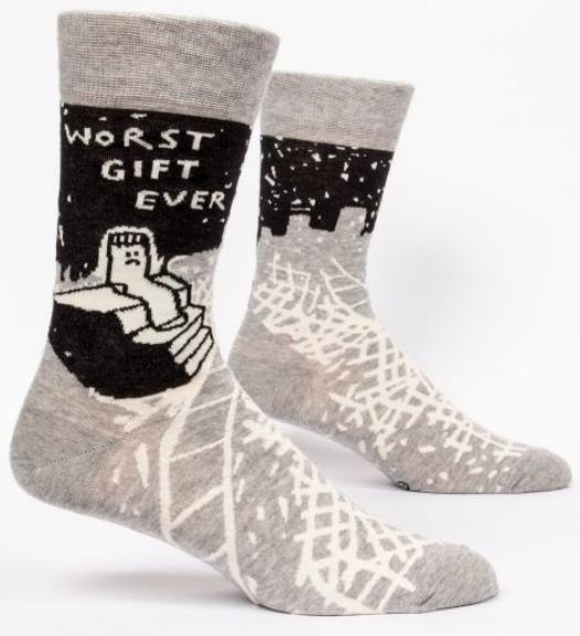 Blue Q Men's Socks: Worst Gift Ever