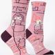 Blue Q Women's Crew Socks: Go Away Introverting
