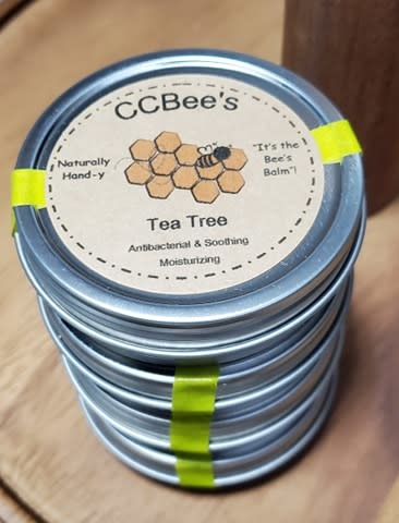 CCBee's Natural Products Hand and Cuticle Balm: