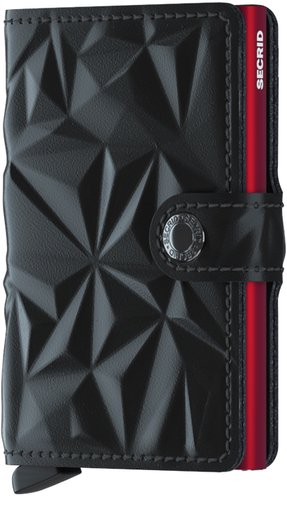 Secrid Miniwallet Prism Black and Red
