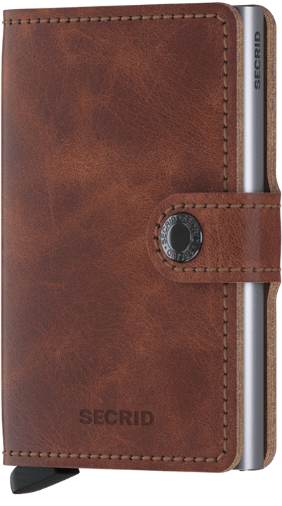 Secrid Miniwallet Brown Vintage