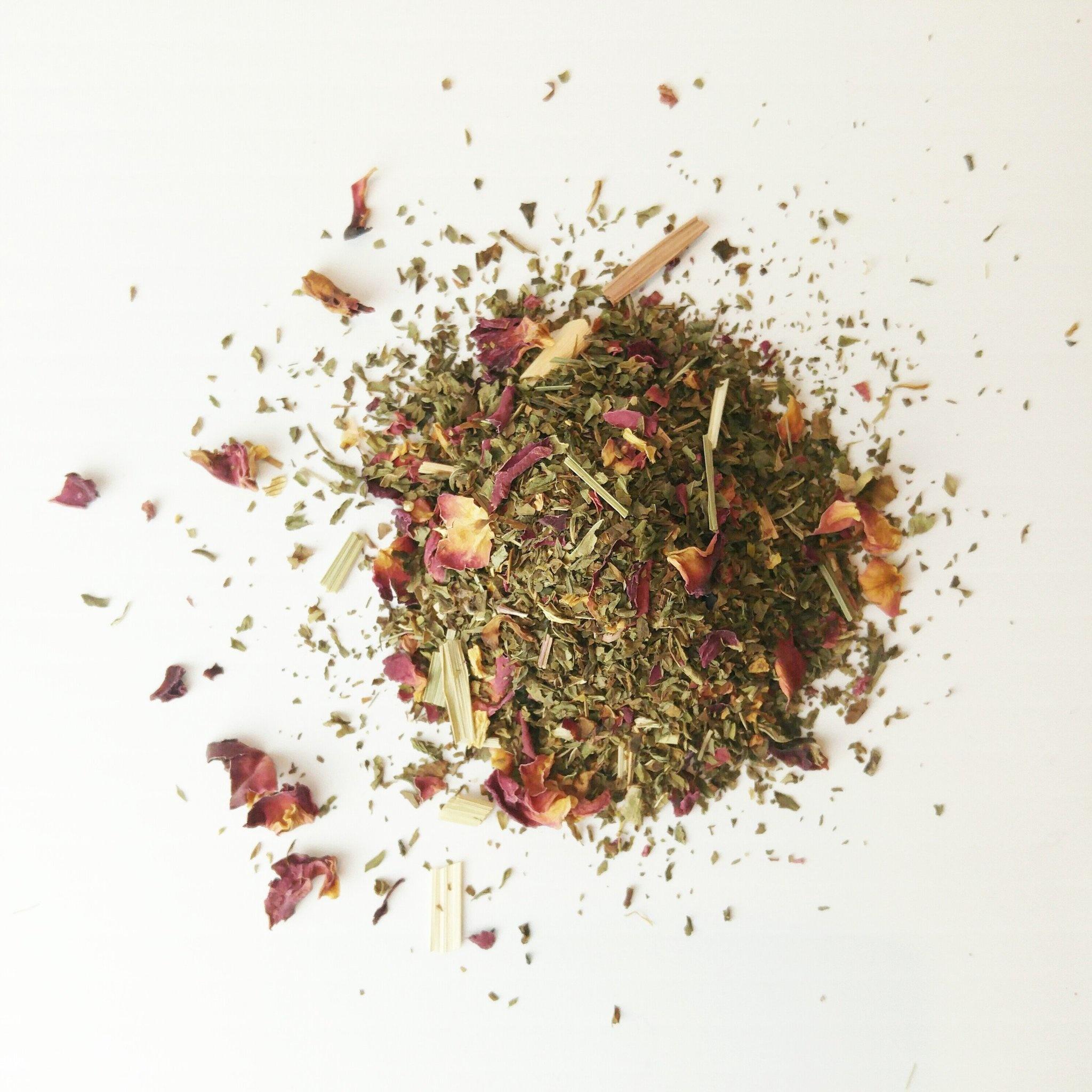 Naked Leaf Citrus Mint Bulk Tea 50g