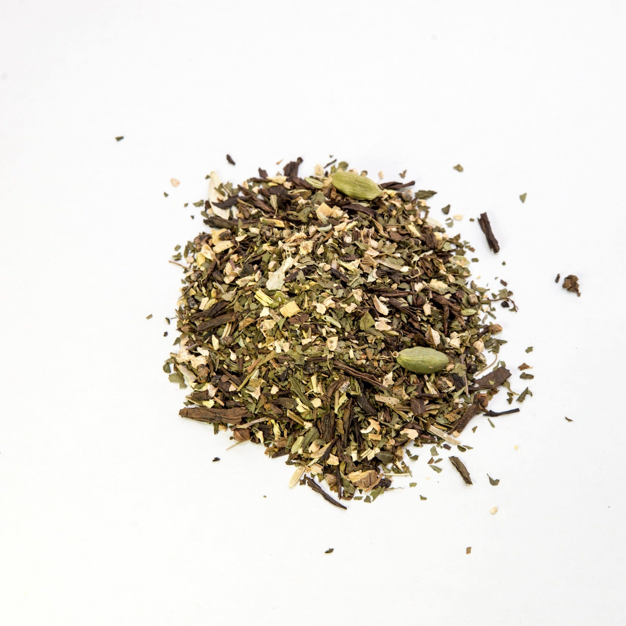 Naked Leaf Spiced Green Bulk Tea 50g