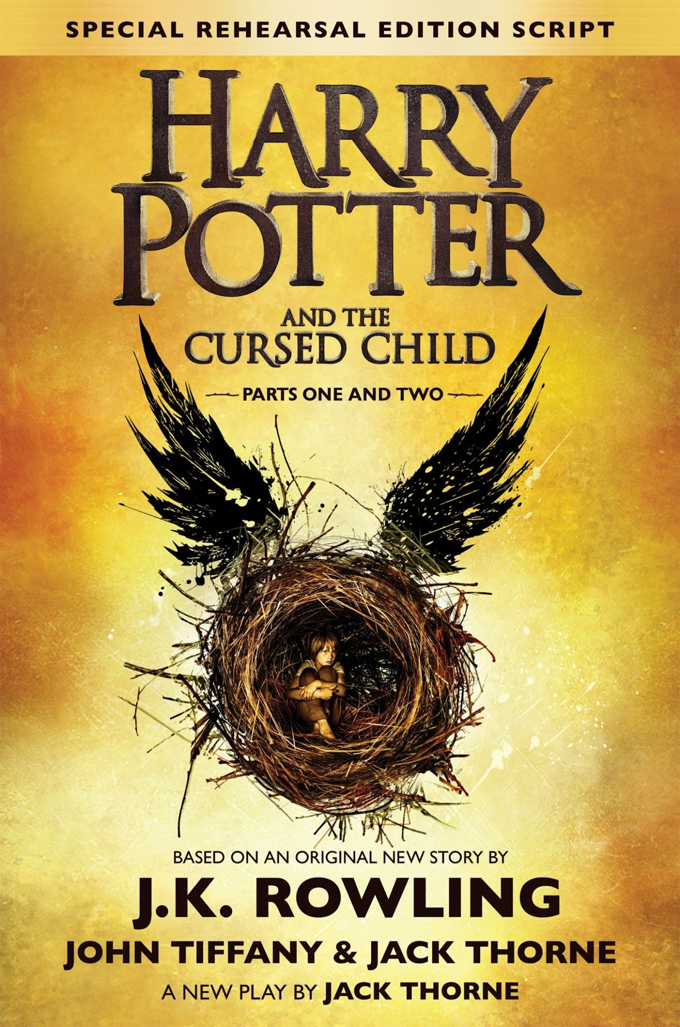 Harry Potter and the Cursed Child Parts One and Two (Special Rehearsal Edition Script)